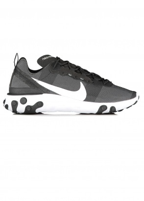 Nike Footwear React Element 55 - Black / White