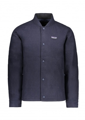 Patagonia Recycled Wool Bomber - Classic Navy