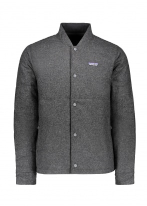 Patagonia Recycled Wool Bomber Forge Gre