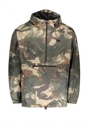 adidas Originals Apparel Regen Windbreaker Jacket - Camo