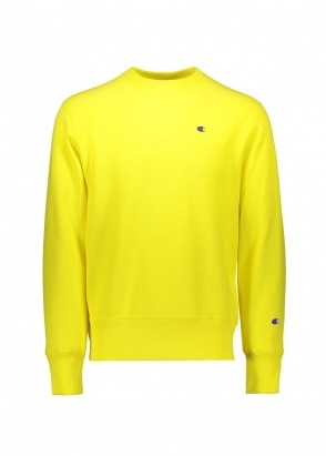 Champion Reverse Weave Sweatshirt - Yellow