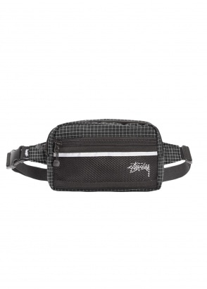 Stussy Ripstop Nylon Bag - Black