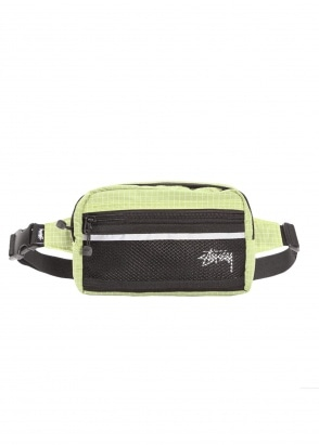 Stussy Ripstop Nylon Bag - Lime