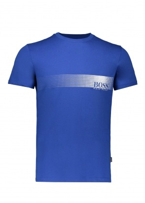 BOSS Bodywear RN T-Shirt 422 - Medium Blue