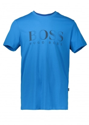 Hugo Boss RN T-Shirt 434 Bright Blue / Bla