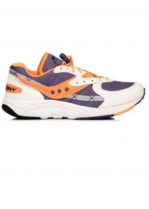 Saucony Aya - White / Purple / Orange