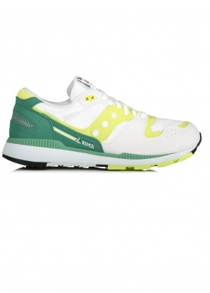 Saucony Azura Trainers White/Green 7