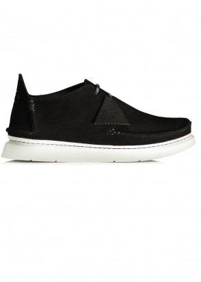 Clarks Originals Seven Suede - Black