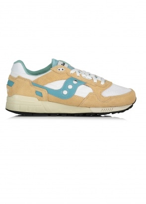 Saucony Shadow 5000 Vintage - Tan / White / Blue