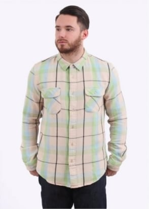 Levi's Vintage Clothing Shorthorn Shirt Check - Ecru Check
