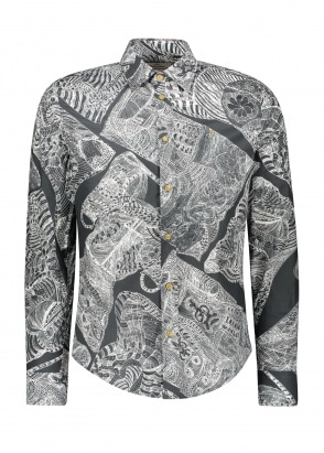 Vivienne Westwood Slim Shirt Anthony Newtom - Grey