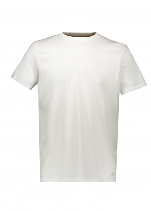 Folk Slub Assembley Tee - White