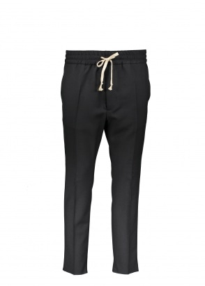 Vivienne Westwood Mens Smart Joggers - Black