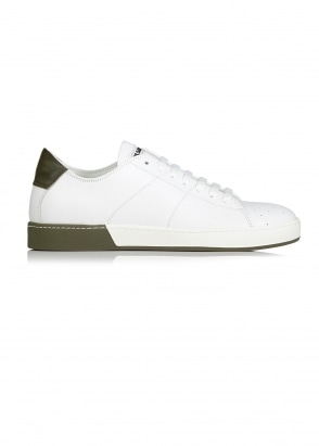 Softy 101 Uomo Sneaker - White / Olive