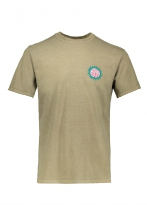 Stussy Soll Pig Dyed Tee - Army