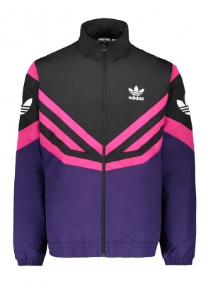 adidas Originals Apparel Sportivo Track Top Black / Purple