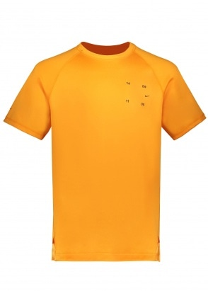 Nike Apparel Sportswear Tech Tee 886 - Kumquat / Black