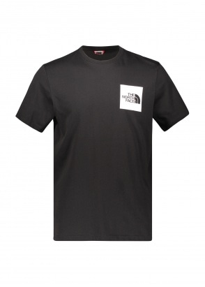 The North Face SS Fine Tee - Black