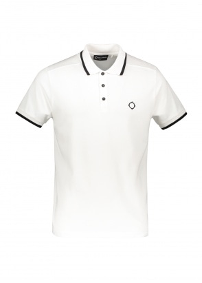 MA.STRUM SS Jersey Polo - Optic White