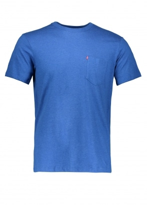Levi's Red Tab SS Pocket Sunset Tee True Blue