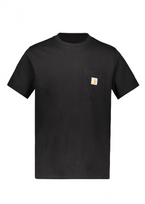 Carhartt WIP SS Pocket T-Shirt - Black