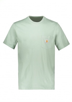 Carhartt WIP SS Pocket T-Shirt - Frosted Green