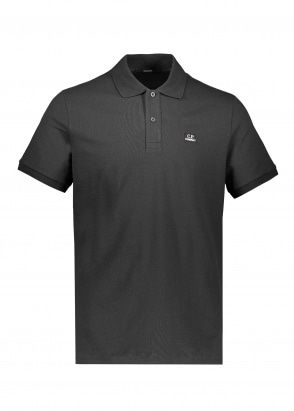 C.P. Company SS Polo Shirt - Black
