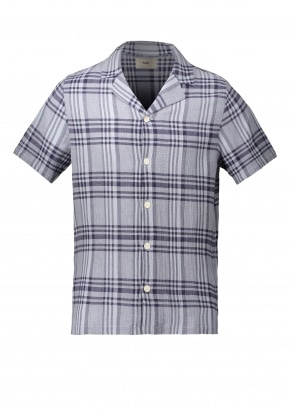 Folk SS Soft Collar Shirt - Mist Over
