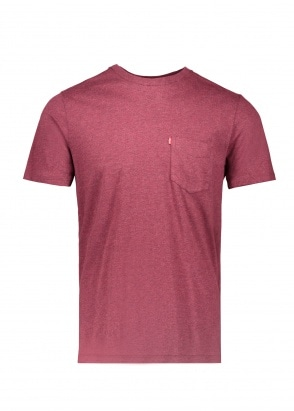 Levi's Red Tab SS Sunset Pocket Tee - Fig Purple