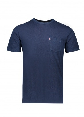 Levi's Red Tab SS Sunset Pocket Tee - Saturated Indigo