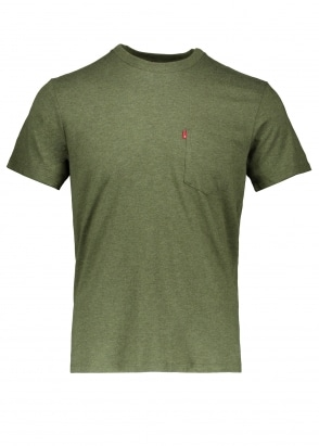 Levi's Red Tab SS Sunset Pocket Tee - Sea Moss