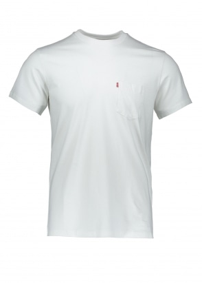 Levi's Red Tab SS Sunset Pocket Tee - Whitesmoke