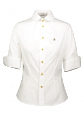 Vivienne Westwood SS Toulouse Shirt - White