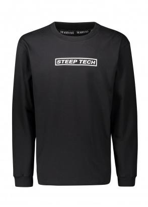 The North Face Steep Tech LS Tee - Black
