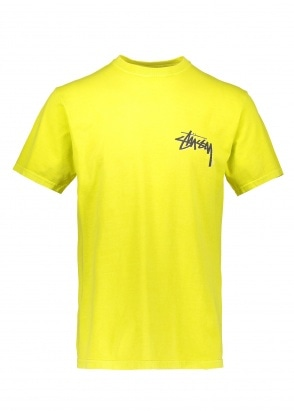 Stussy Stock C.Pig Dyed Tee - Lime