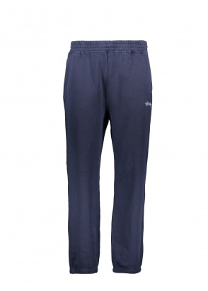 Stussy Stock Fleece Pant - Navy