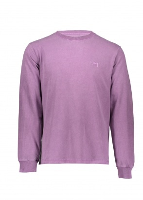Stussy Stock LS Crew - Purple