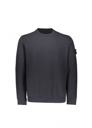 Stone Island Badge Sweatshirt - Navy