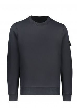 Stone Island Crew Sweat - Navy Blue