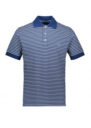 Vivienne Westwood Mens Stripe Polo - Blue / White