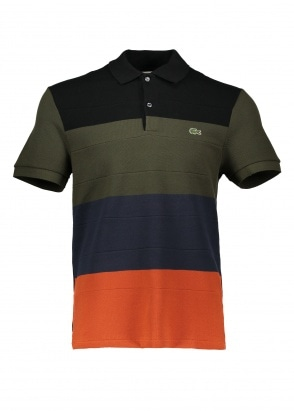 Lacoste Stripe Polo Shirt - Multi