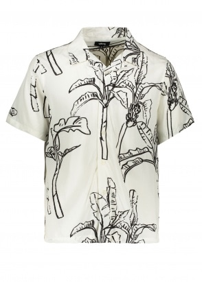 Stussy Banana Tree Shirt - Off White