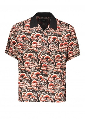 Stussy Coral Pattern Shirt - Red