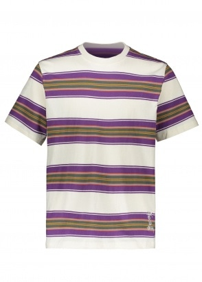 Stussy Multi Stripe Crew - Natural