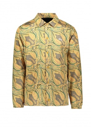 Stussy Paisley Coach Jacket - Gold