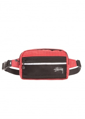 Stussy Ripstop Nylon Bag - Red