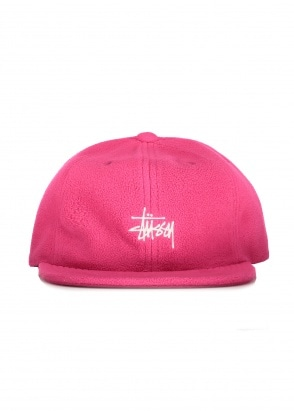 Stussy Smooth Stock Polar Cap - Berry