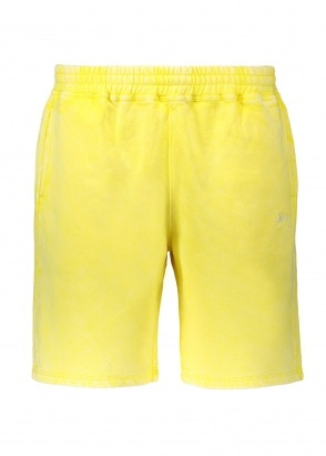 Stussy Stock Fleece Short - Yellow