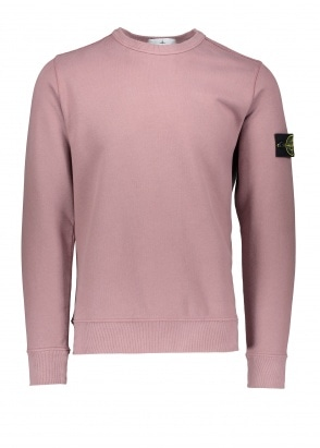 Stone Island Sweatshirt - Rose Quartz