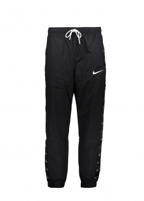 Nike Apparel Swoosh Pant - Black / White